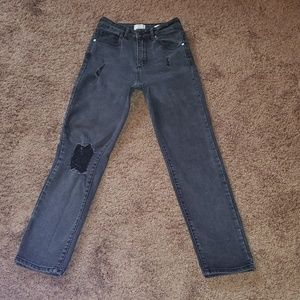 Cotton On 91 High 90's Distressed Skinny jeans